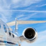 {:no}Leveranser av business jets Gulfstream har økt med 25%