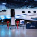 {:lt}Gulfstream įteikė klientas pirmą G600