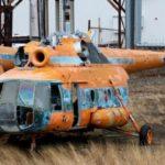 {:pt}Os operadores de helicóptero Rússia termina soviética parque