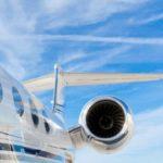{:pt}Entrega de negócios de jatos executivos da Gulfstream aumentaram 25%